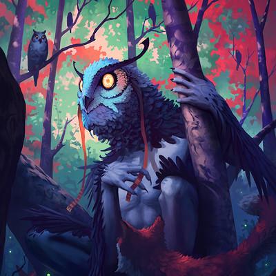 Matthew dobrich owl spirit