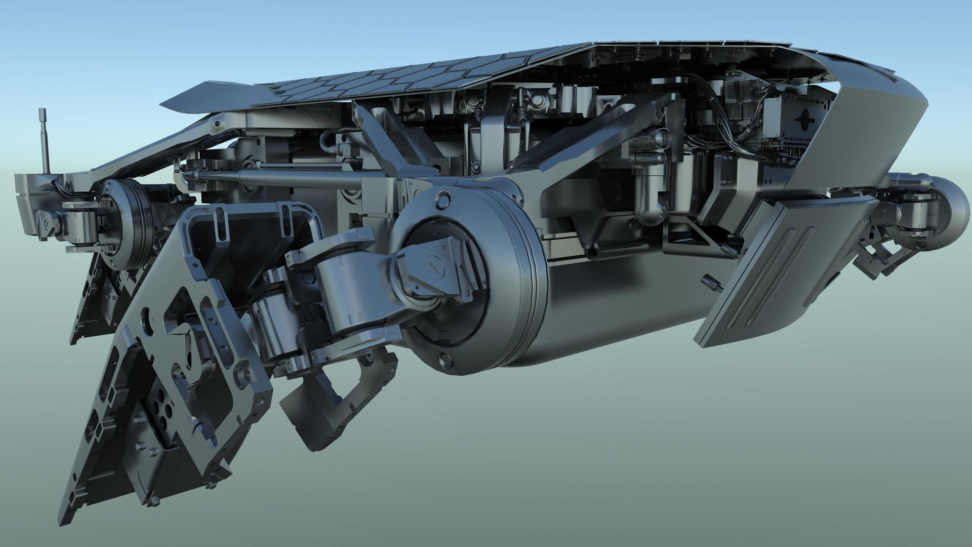 Martin krol drone model render 13