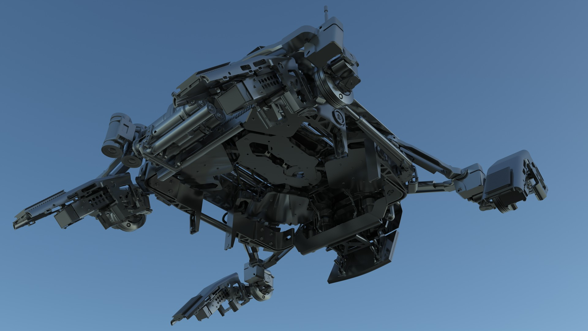 Martin krol drone model render 17