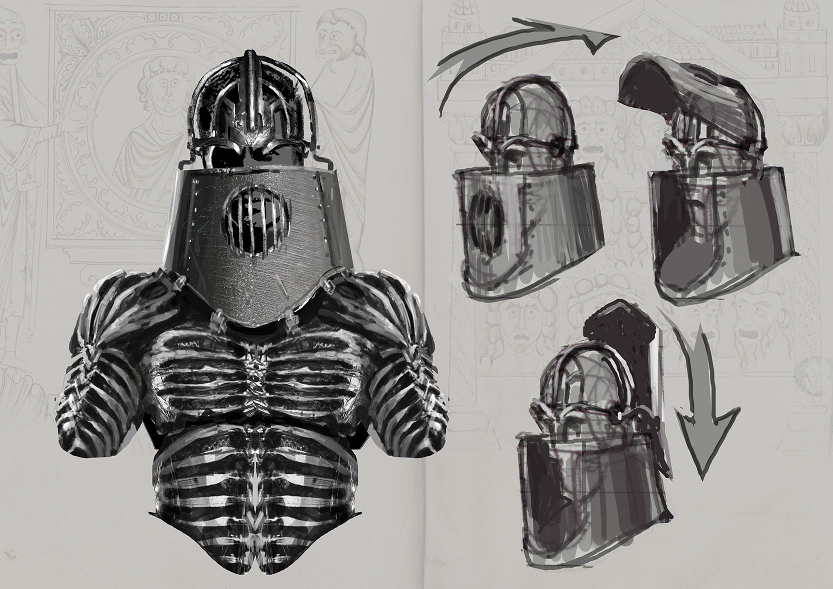Andrei riabovitchev armor helmet v011
