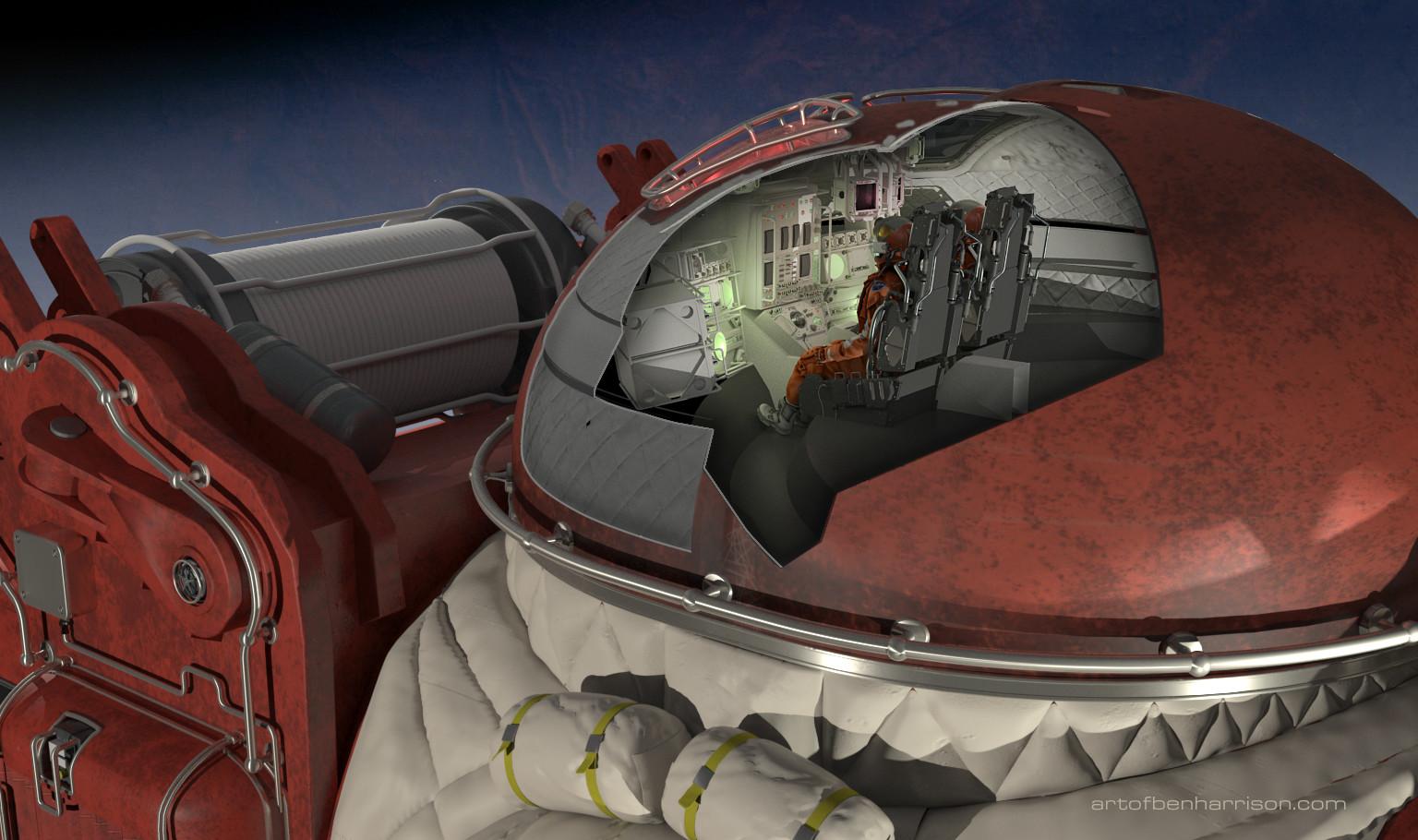 Ben harrison 02 cockpit cutout
