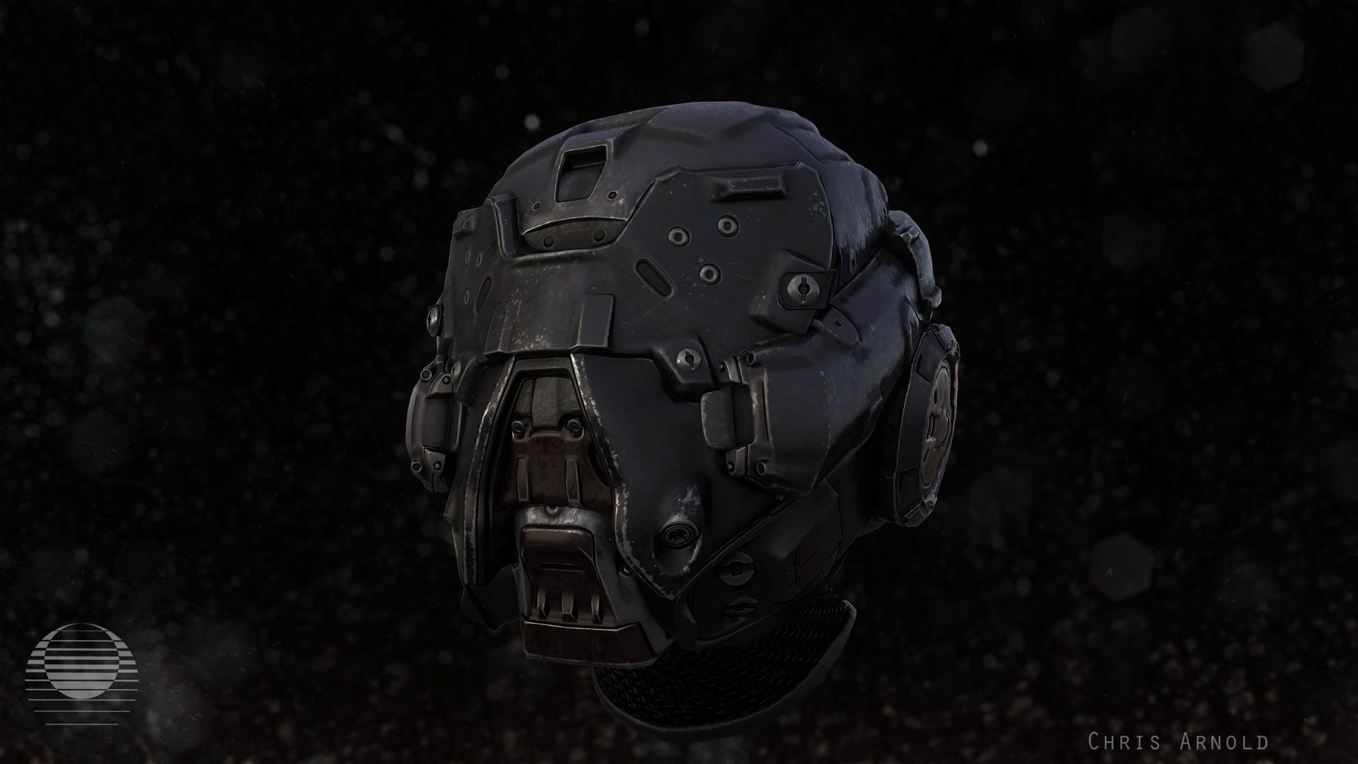 Sci-fi Helmet Concept