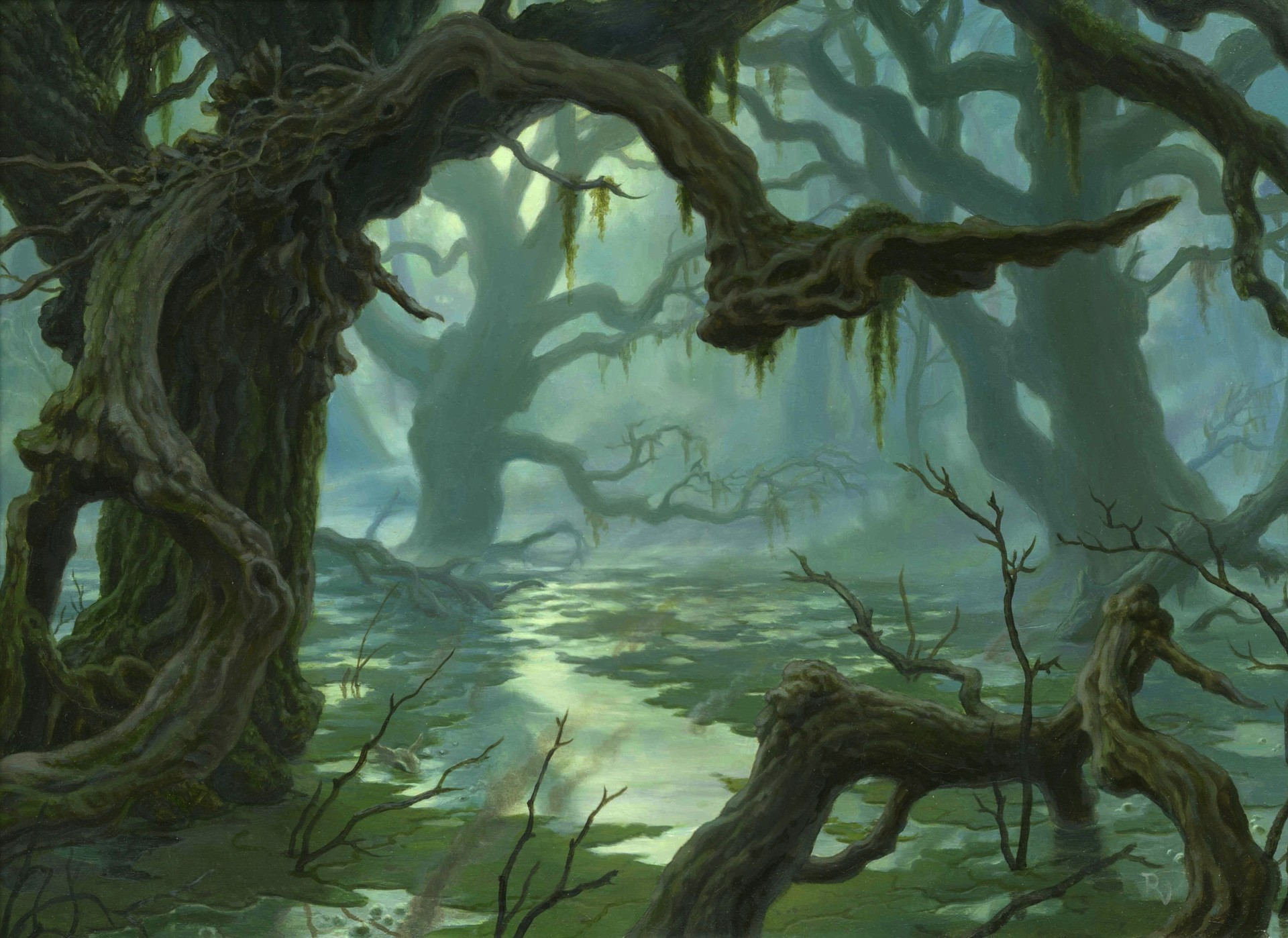 Raoul vitale theros swamp