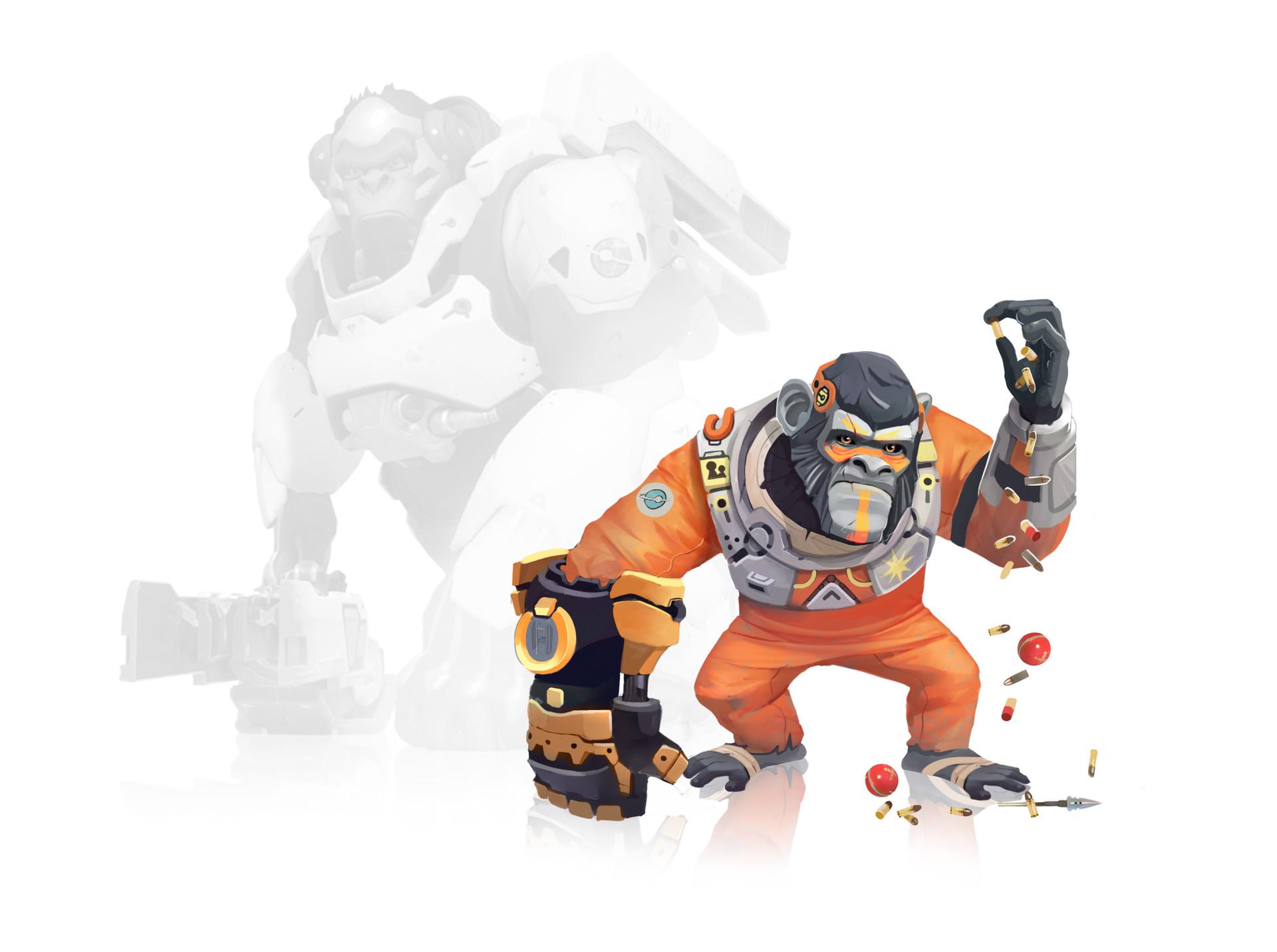 Hammond / Doomfist / Overwatch Character