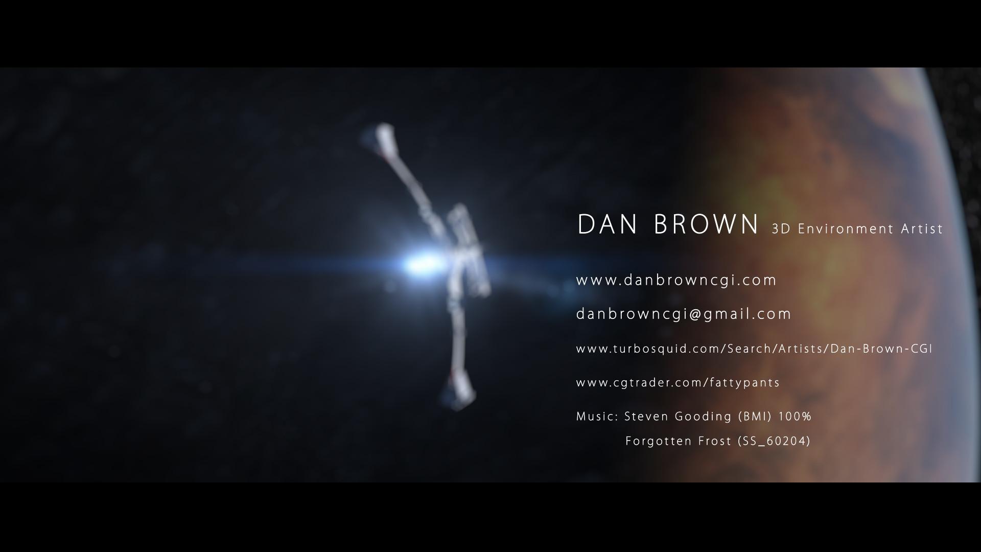 Daniel brown demo reel 2017 cover1