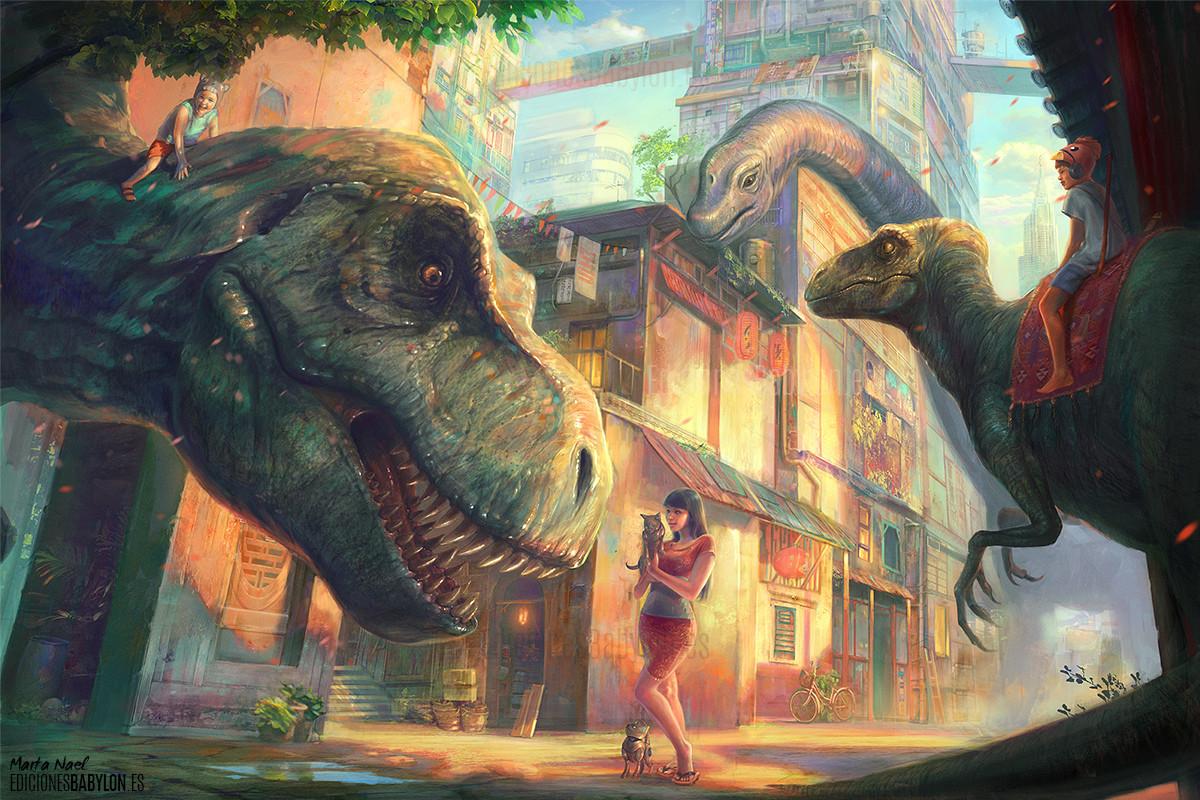 Marta nael dinotopia