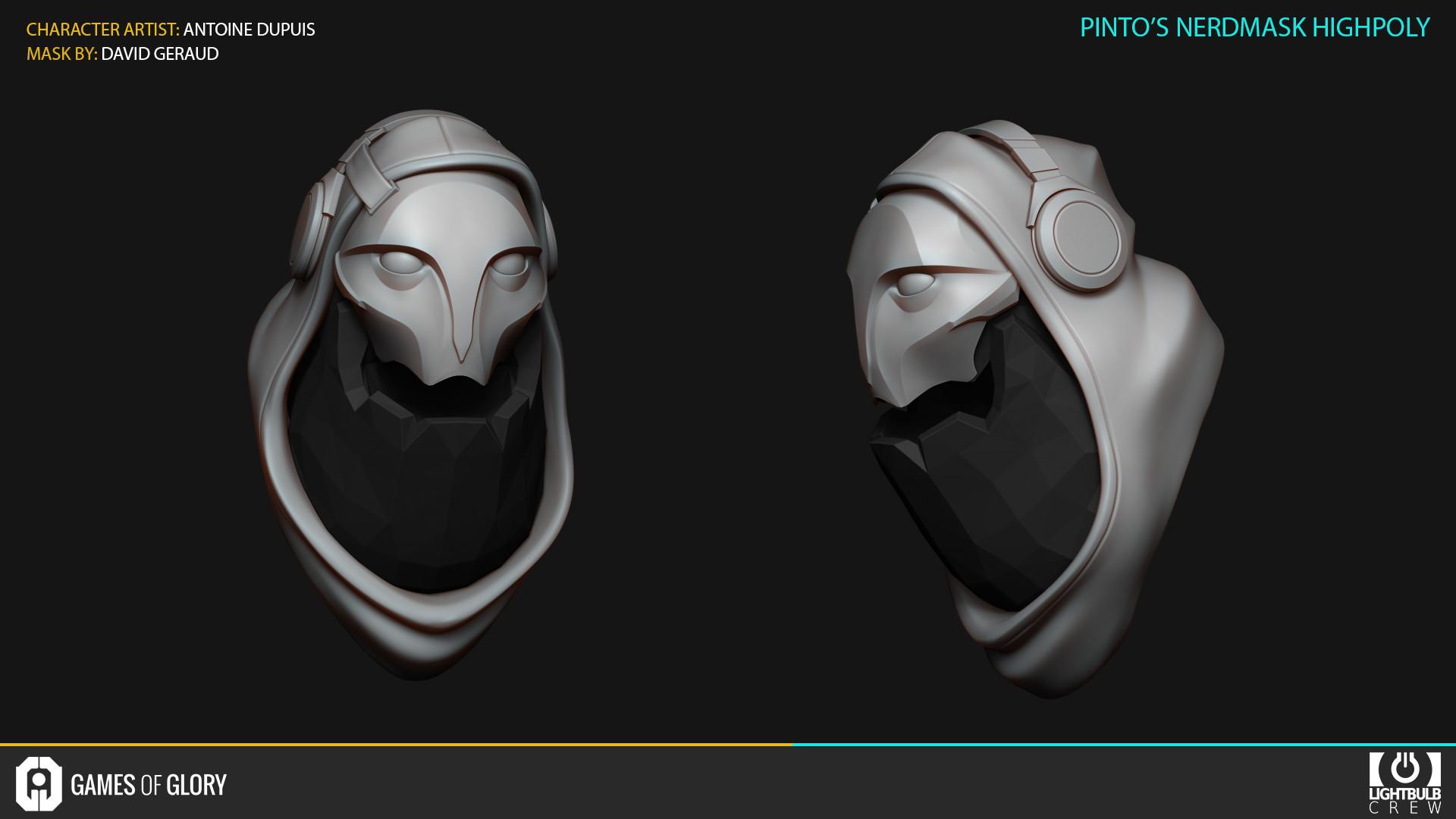 Antoine dupuis 10 pintonerdmask