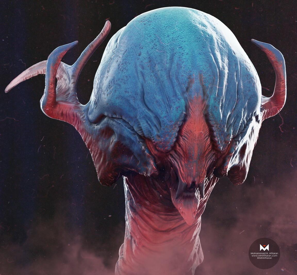 Mohammx hossein attaran creature02 02