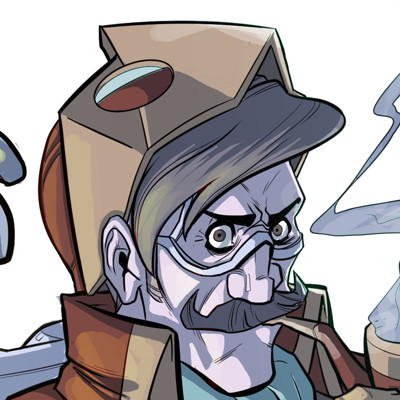 William calleja character design baron