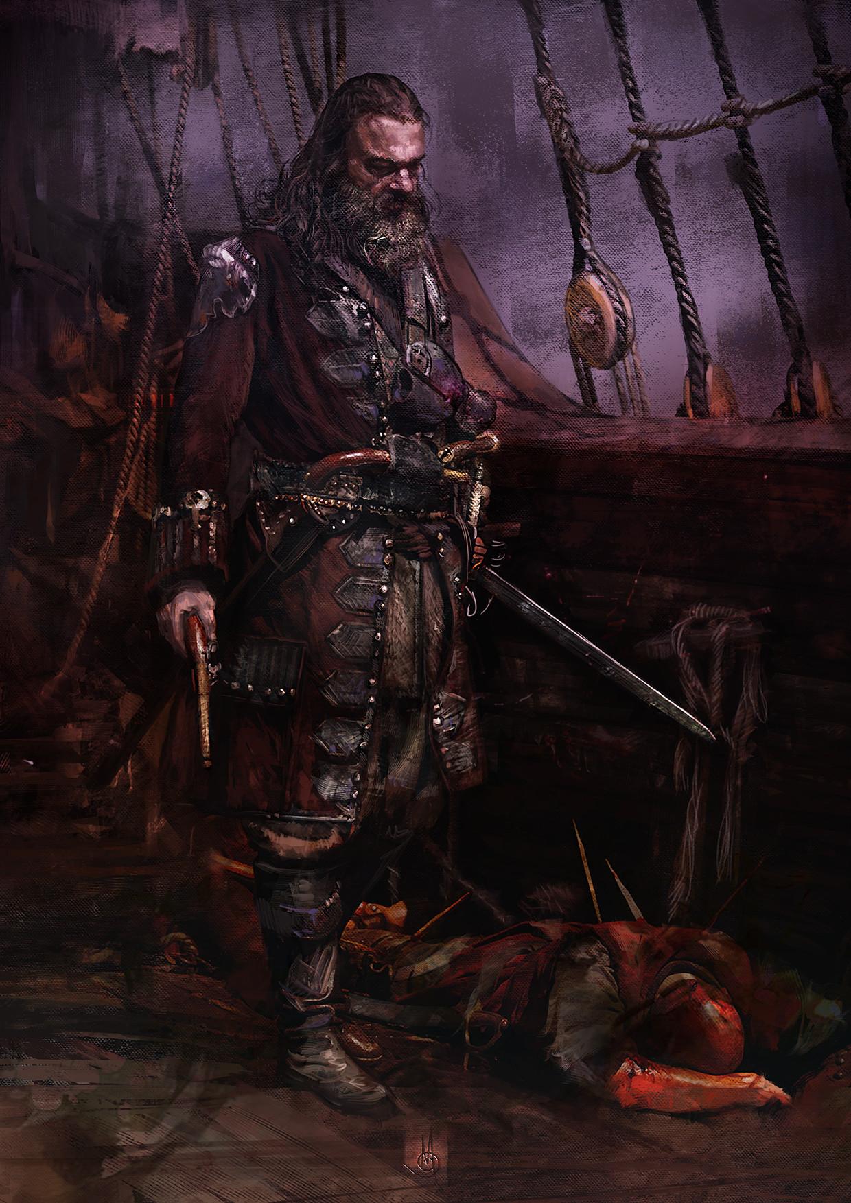 Murat gul blackbeard by muratgul