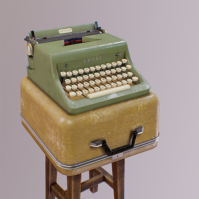 Mine yilmaz ulas typewriter2