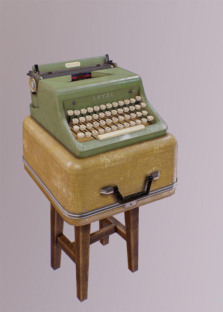 Mine yilmaz ulas typewriter3