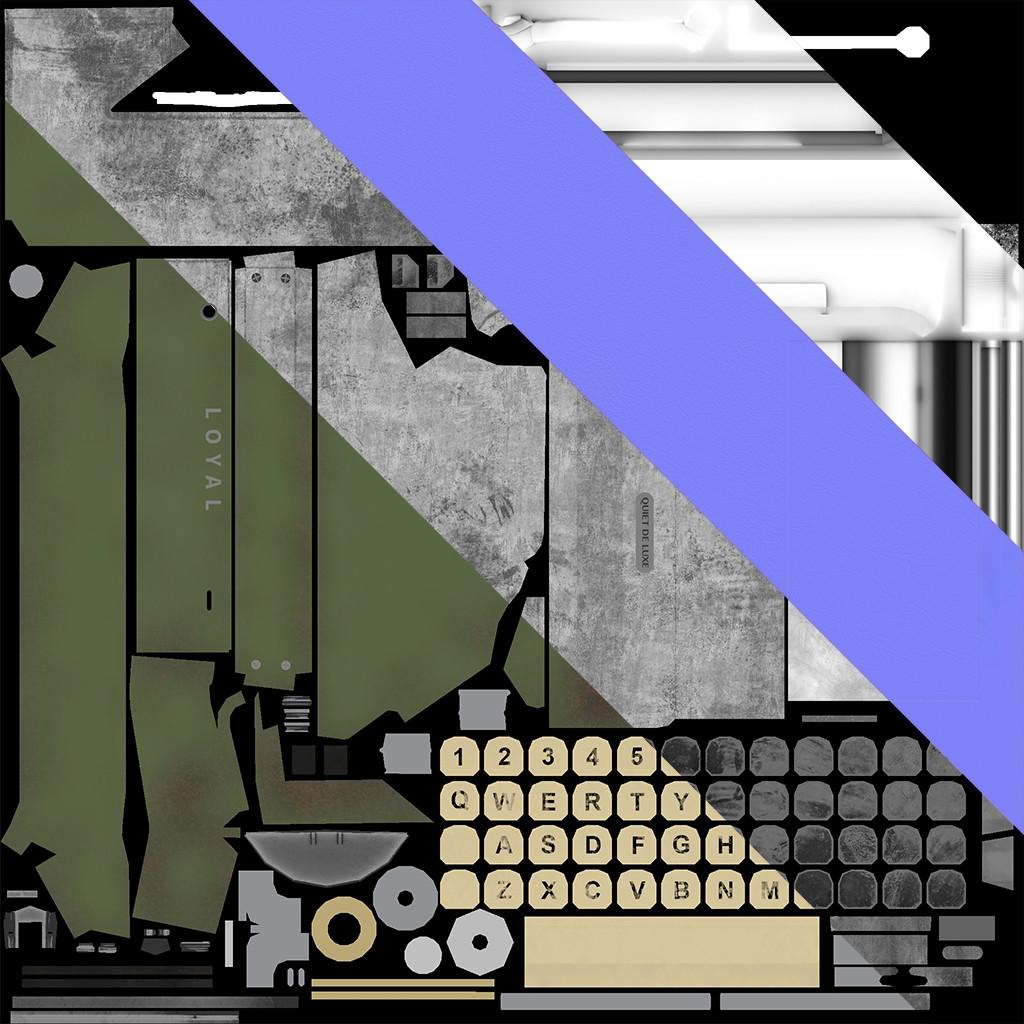 Mine yilmaz ulas typewriter map