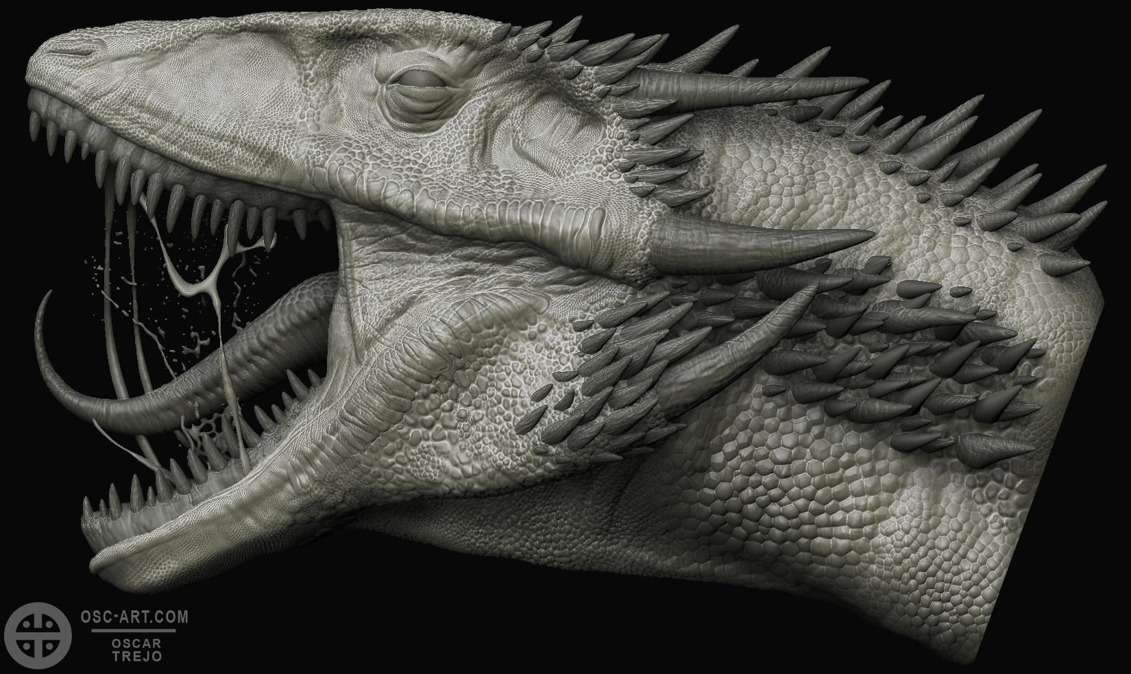Oscar trejo dragon grey
