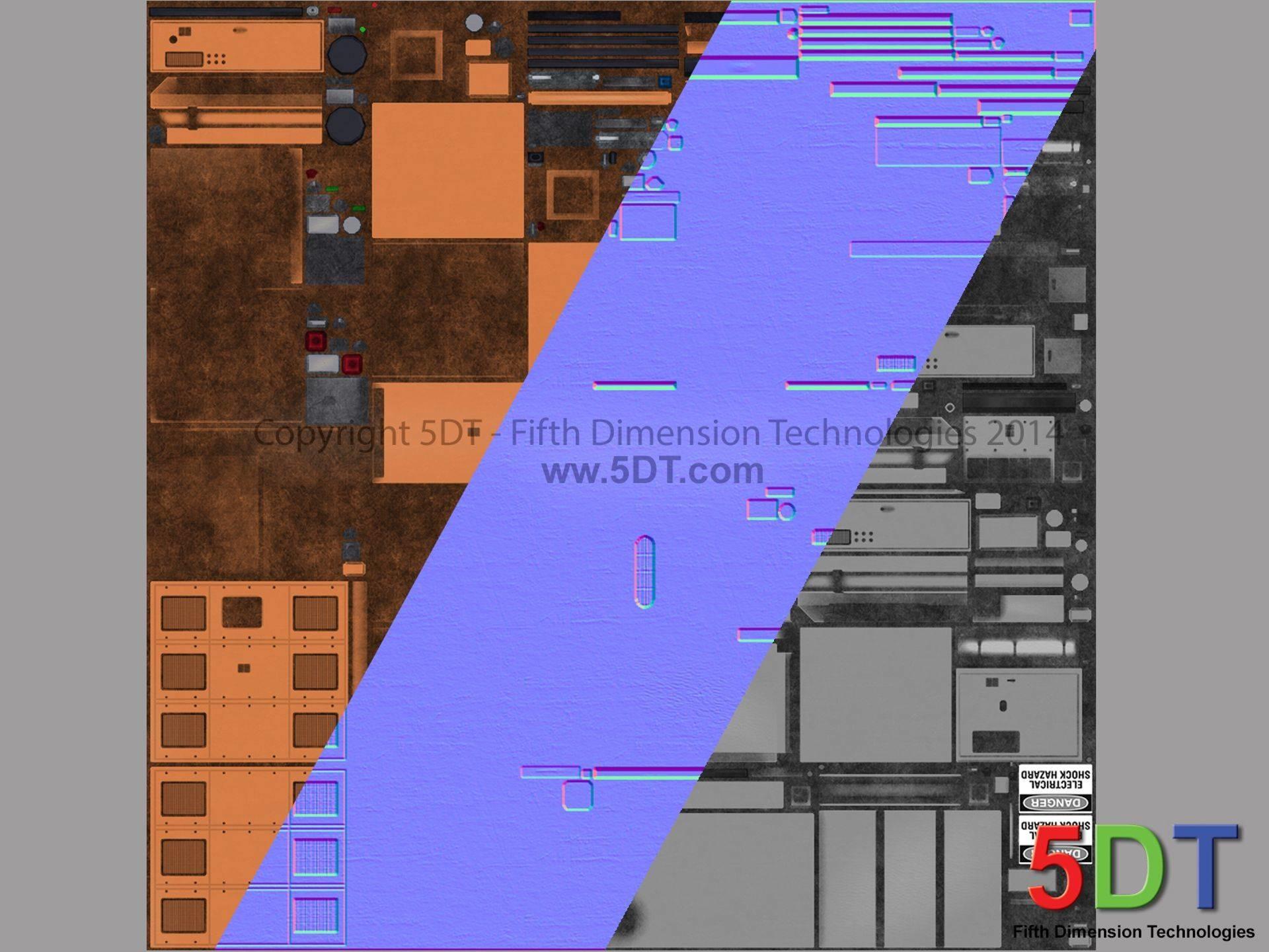Fanie nel substation texture