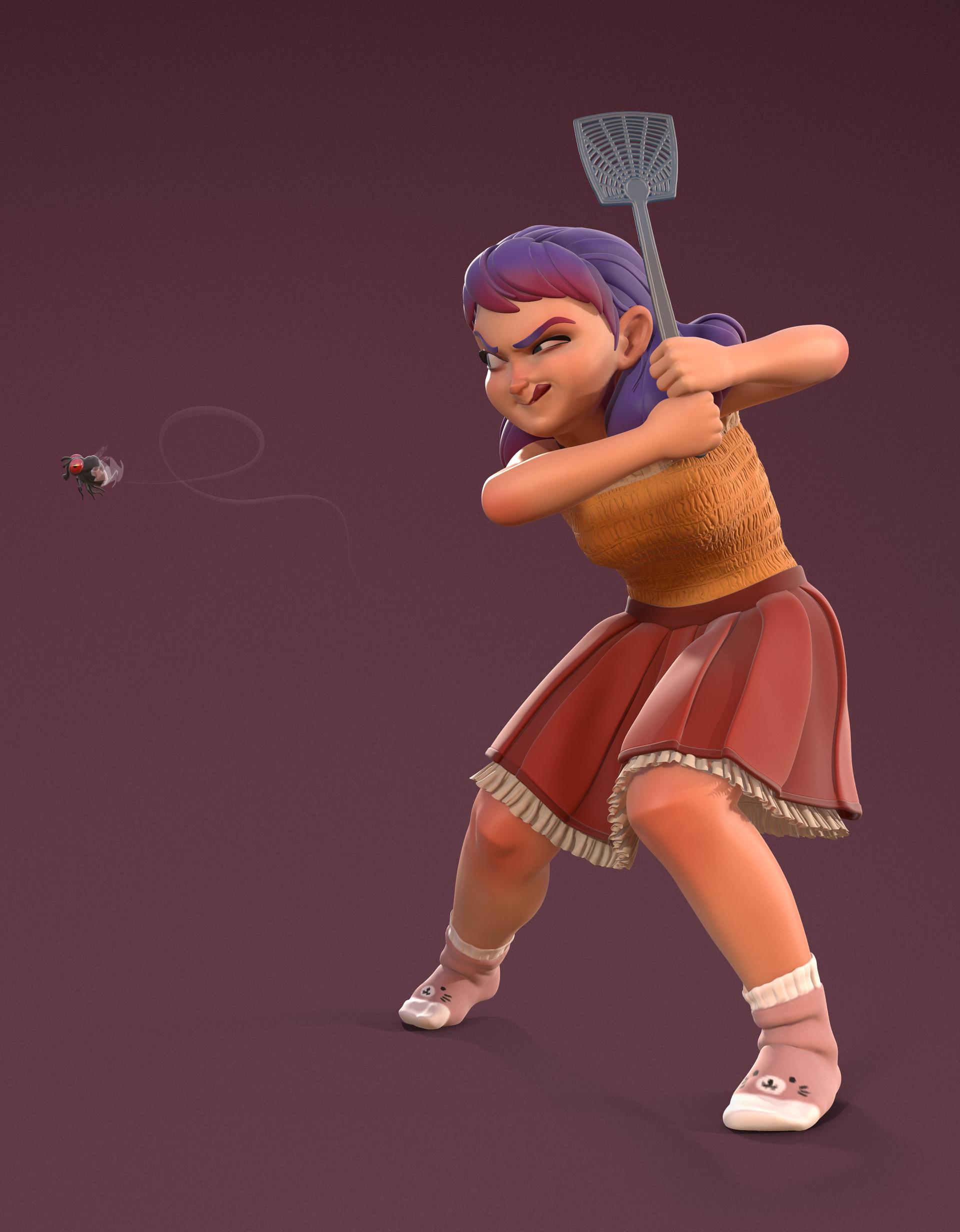 Alexandre proulx audy fly girl marmoset 02