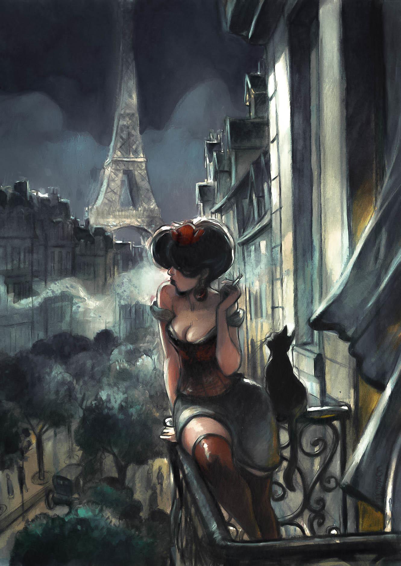 Paris Cigarette