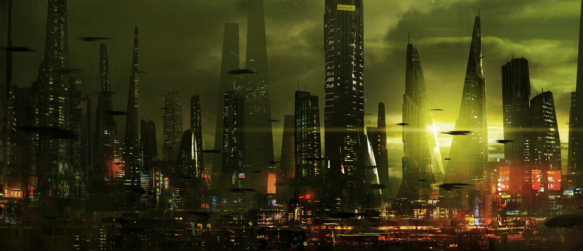 Duncan halleck scifi city