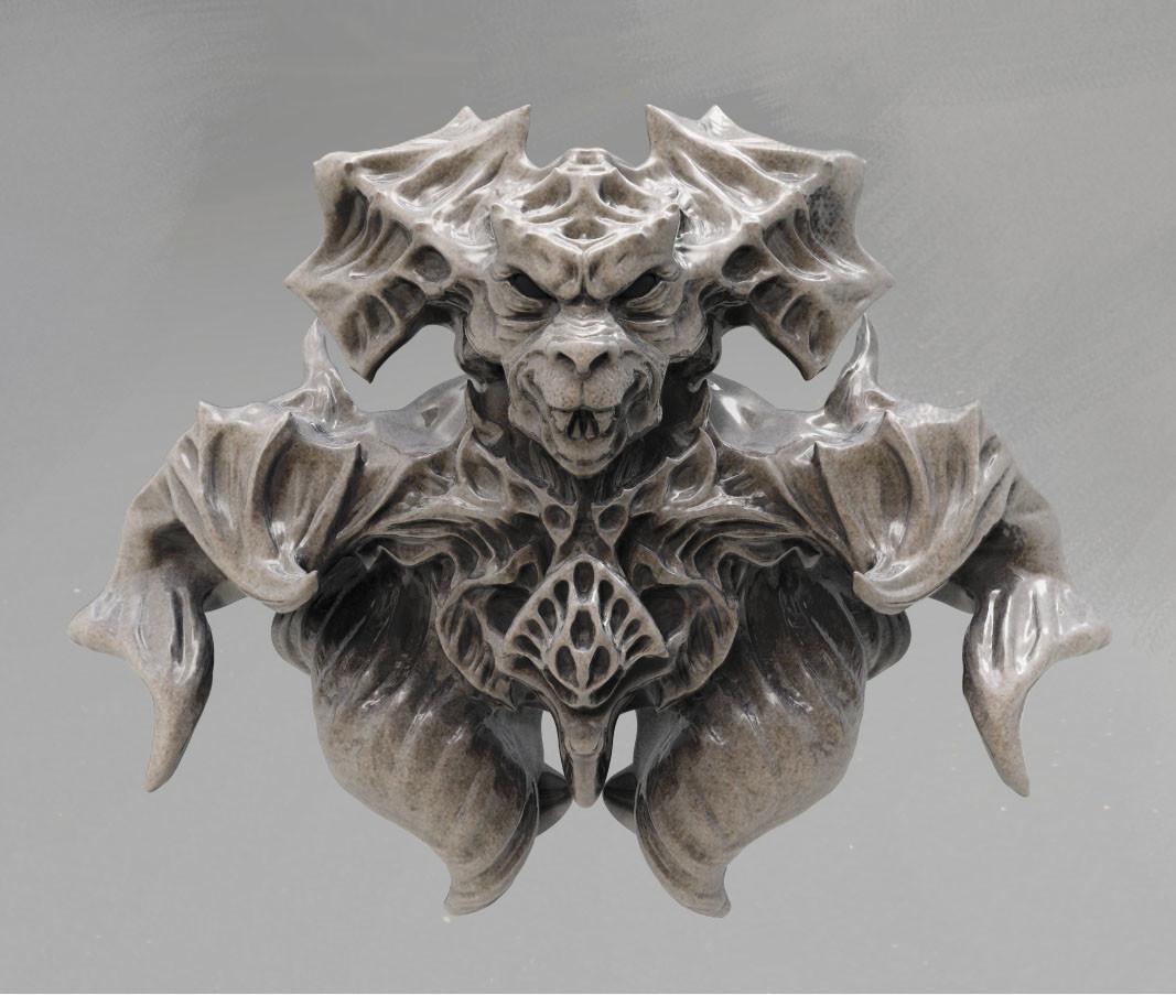 Zodiac Knight bust, Rabbit