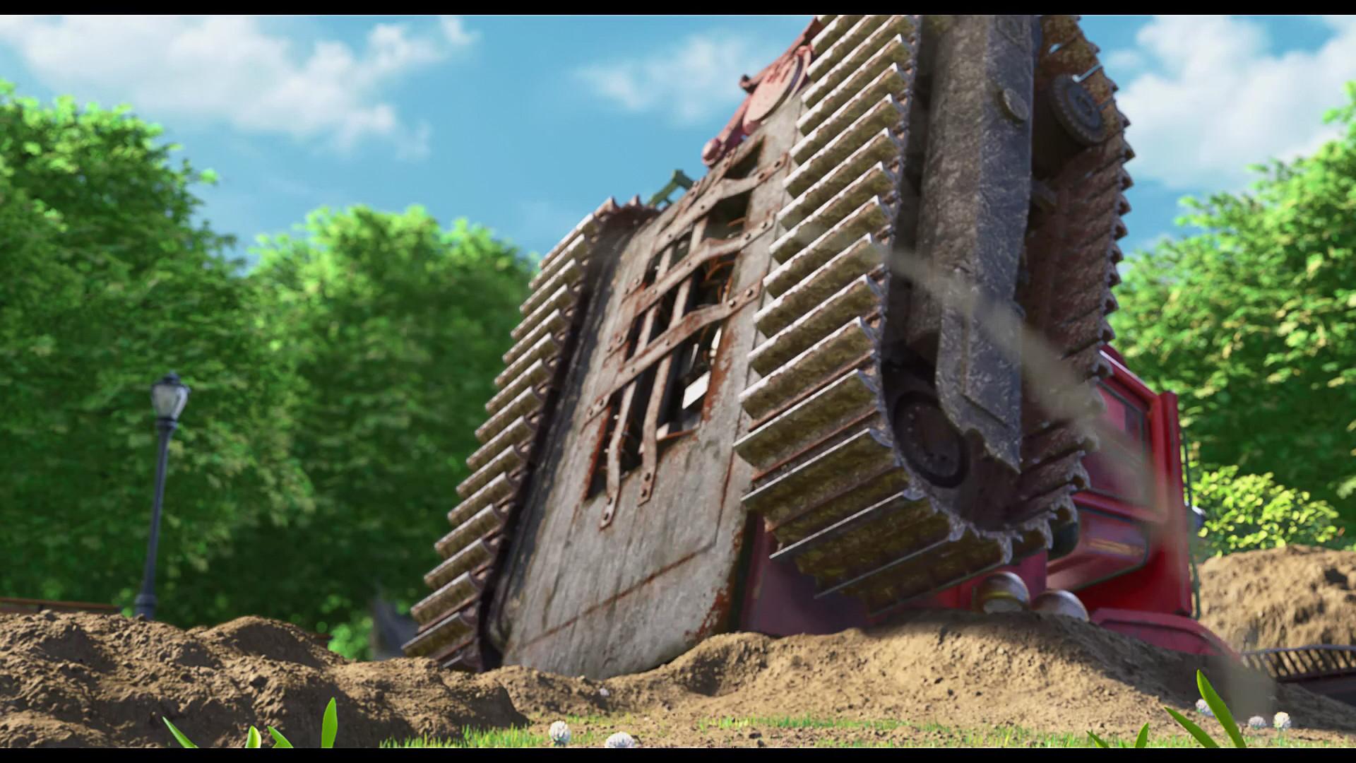 Rohan oka bulldozerunderside