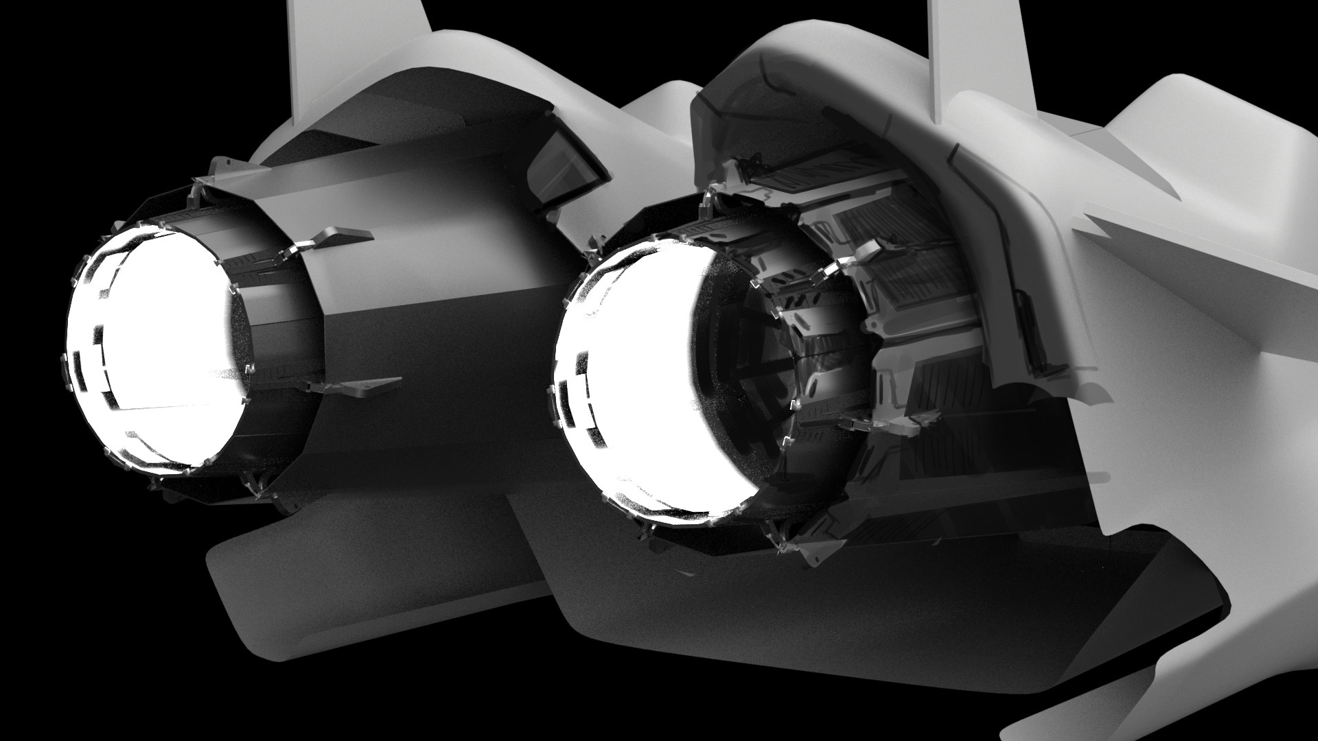 German casado fraga asl spaceship 015 a exhaust overpaint