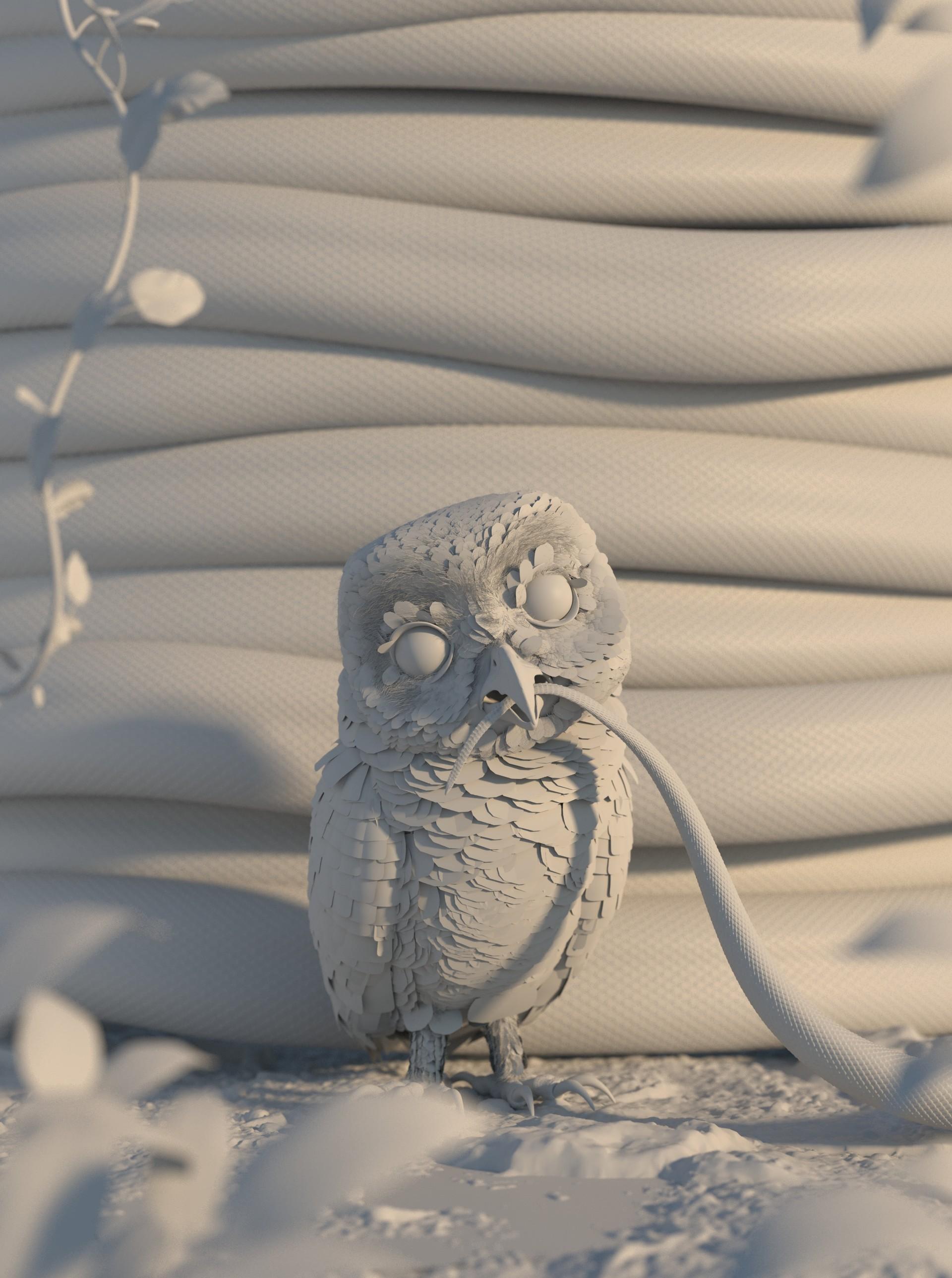 Luis ramos coruja clay 001