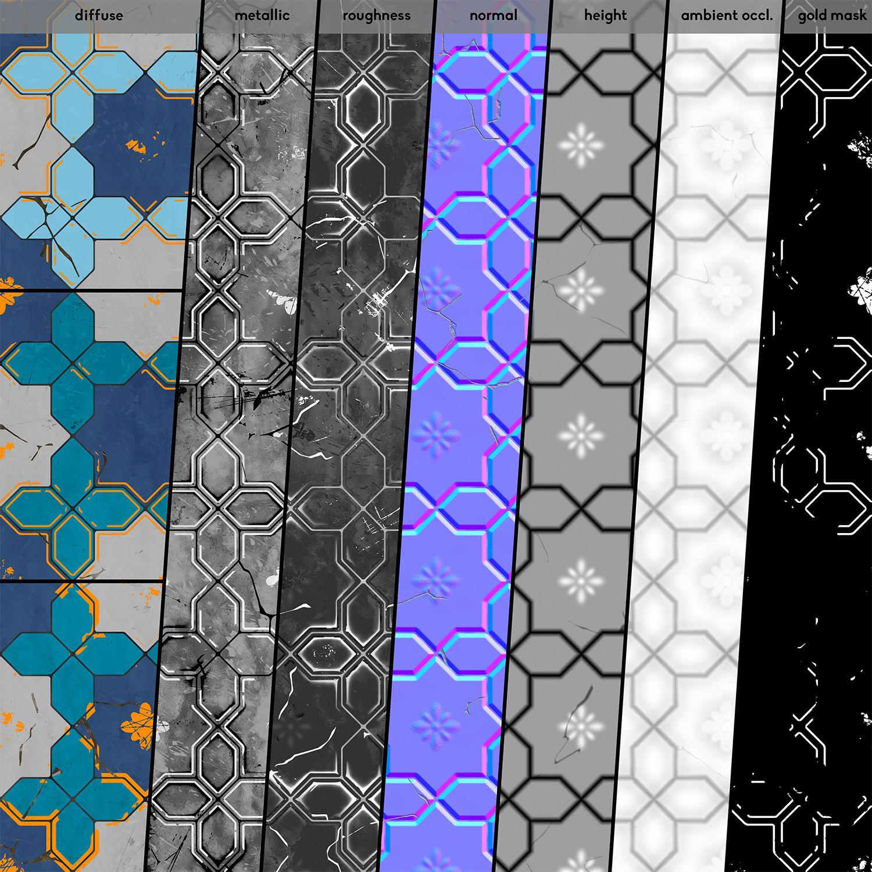 Krzysztof szrama floor tiles