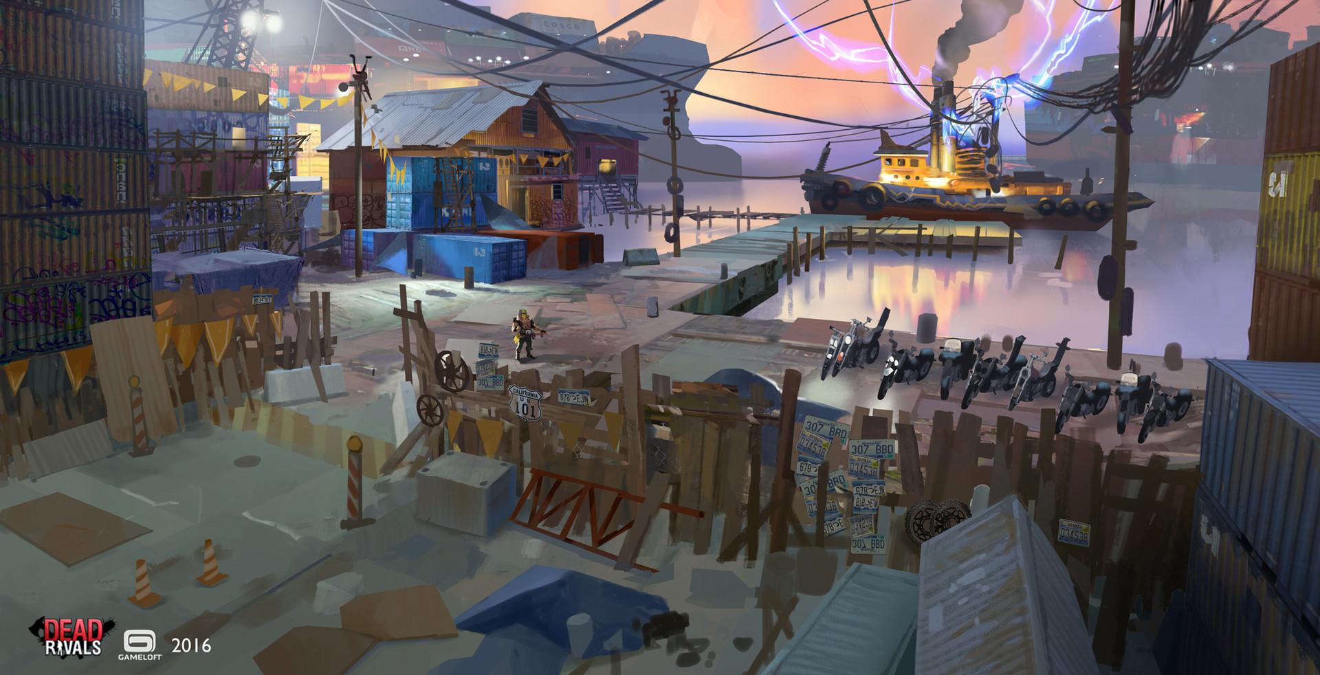 Adrien girod dw power boat scenery 03 artstation