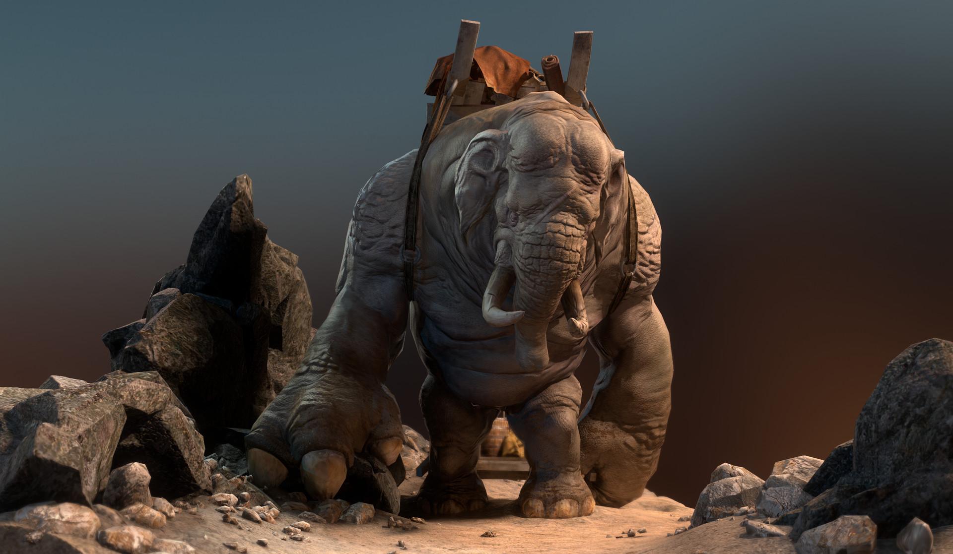 Daniel s rodrigues elephant beauty 003