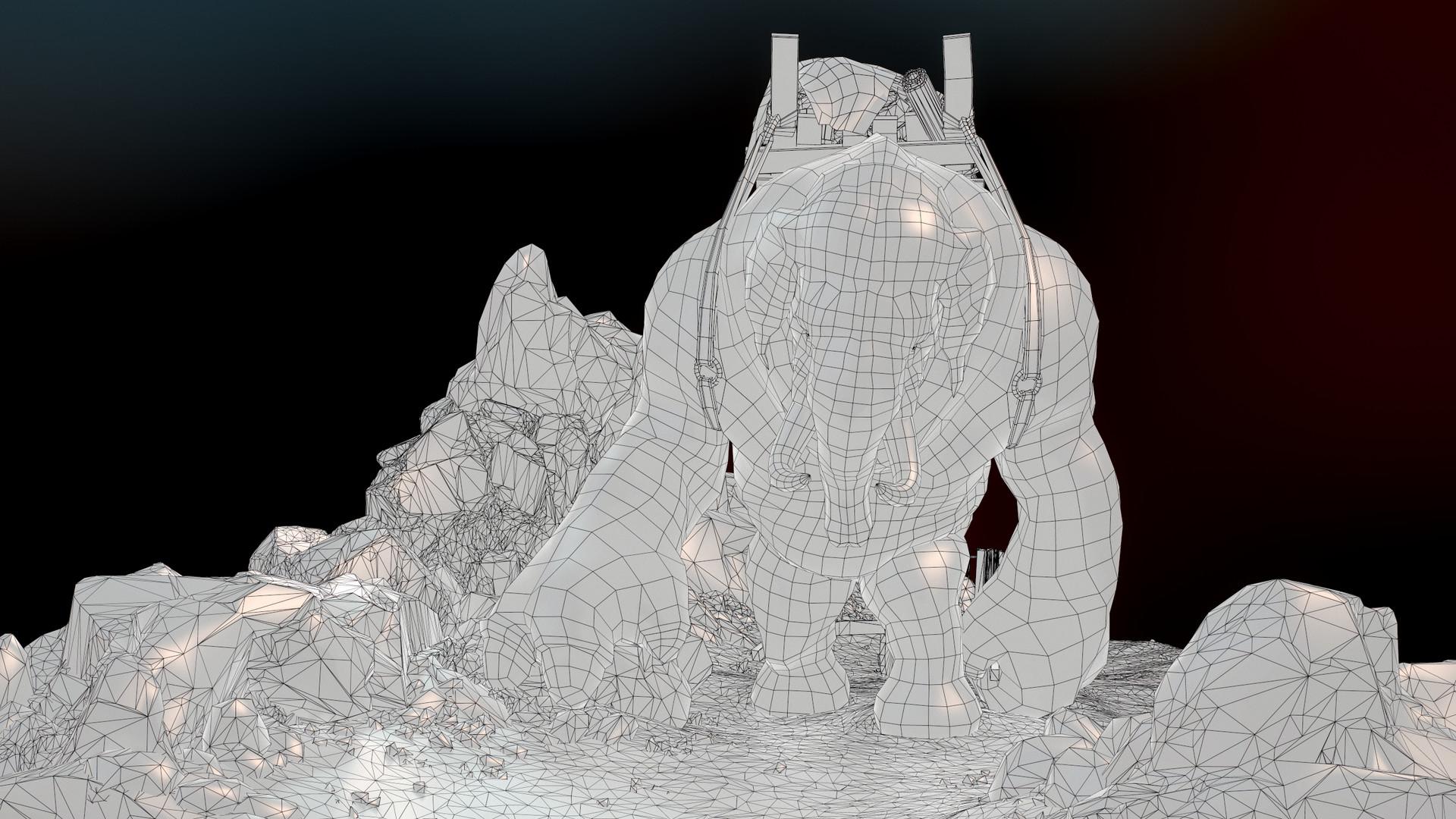 Daniel s rodrigues elephant wire 001