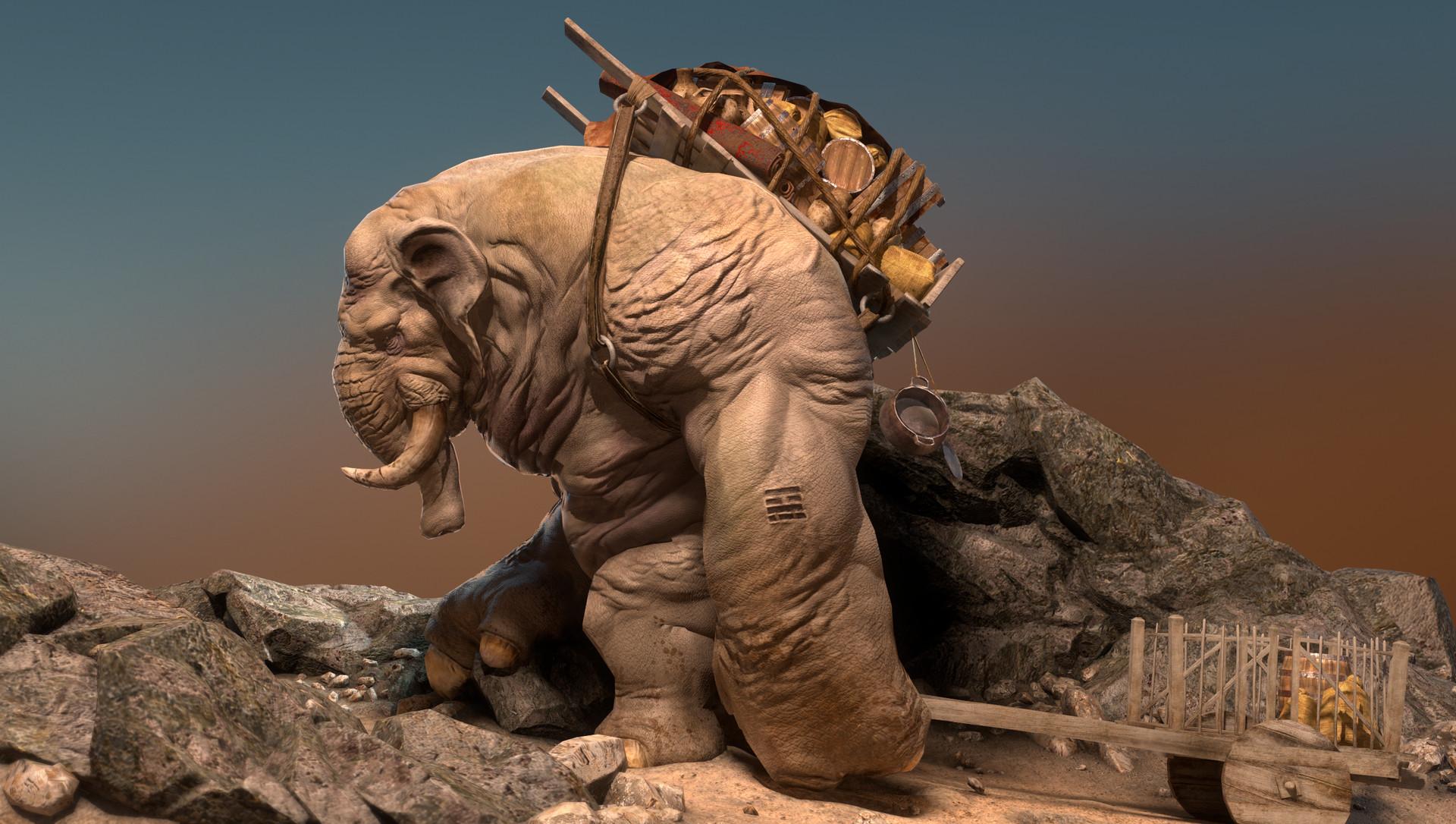 Daniel s rodrigues elephant beauty 009