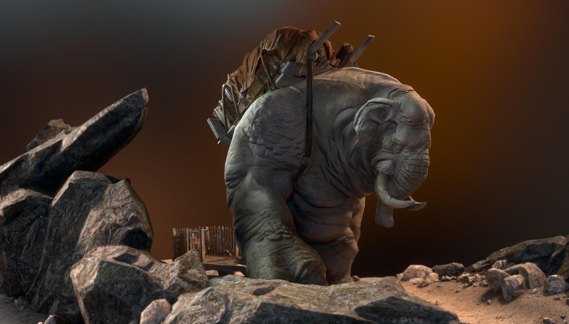 Daniel s rodrigues elephant beauty 001