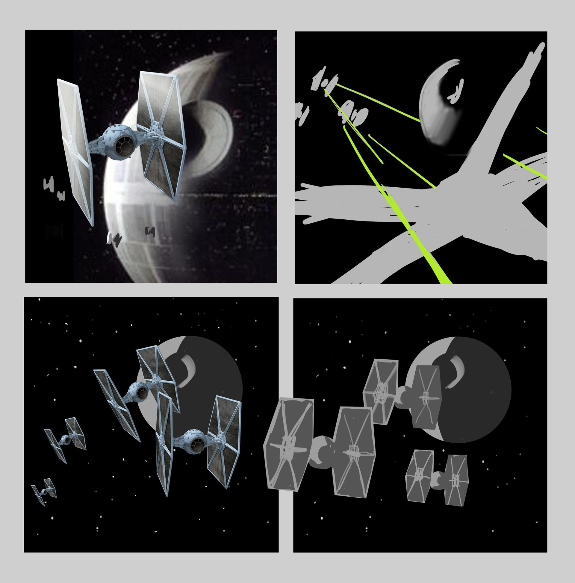 Quentin castel sketches vaisseaux