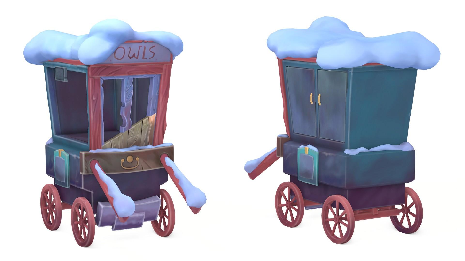 Hogsmid Cart