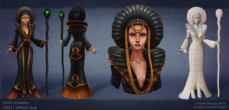Viviane herzog dark queen
