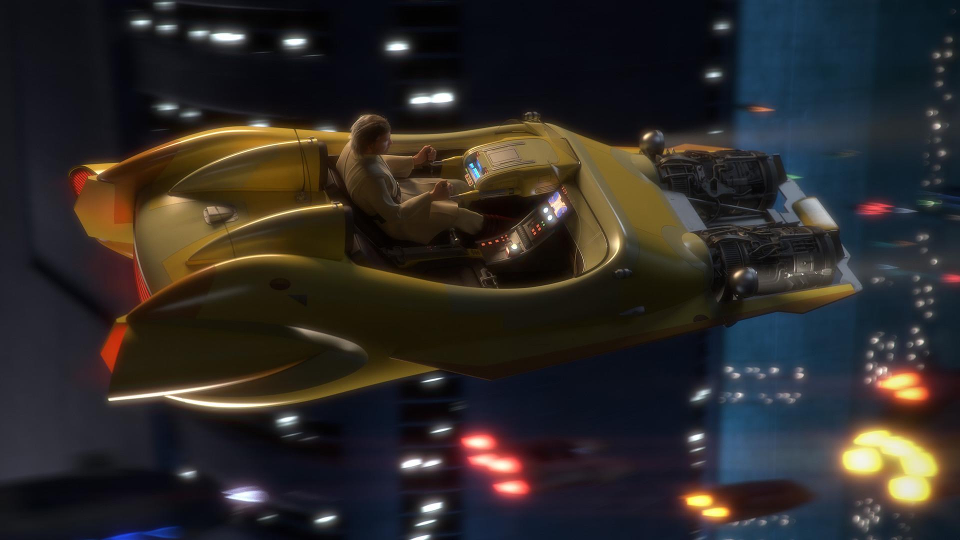 Star Wars - Hotrod Speeder