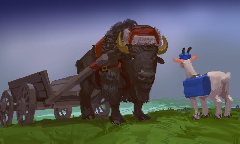 Devin platts bison cart