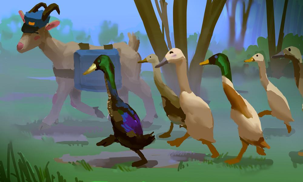 Devin platts runner ducks