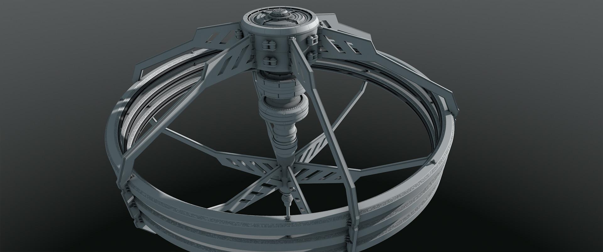 Glenn clovis spacestation concept 9 004