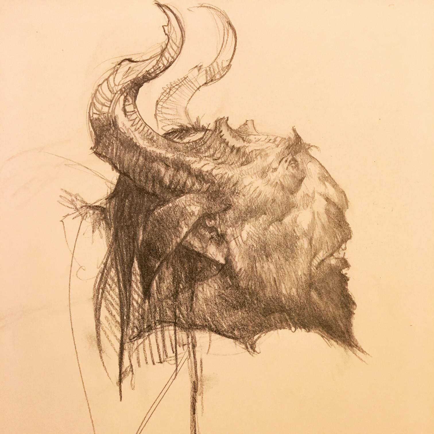Faun sketches.