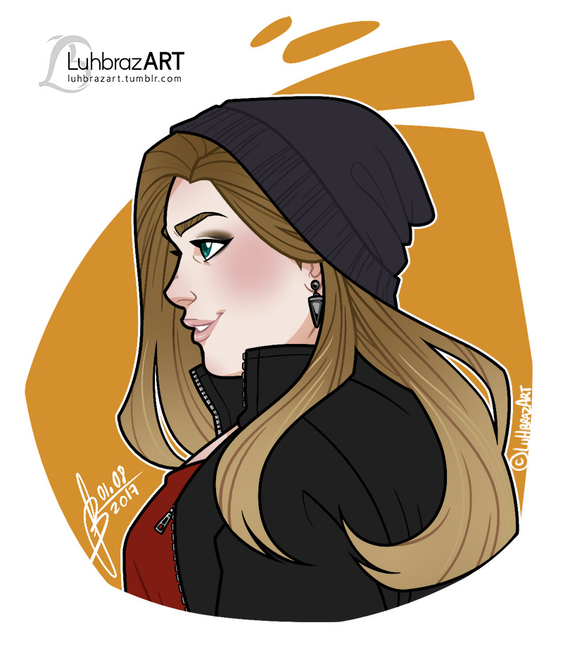 Luiza braz portraittiny