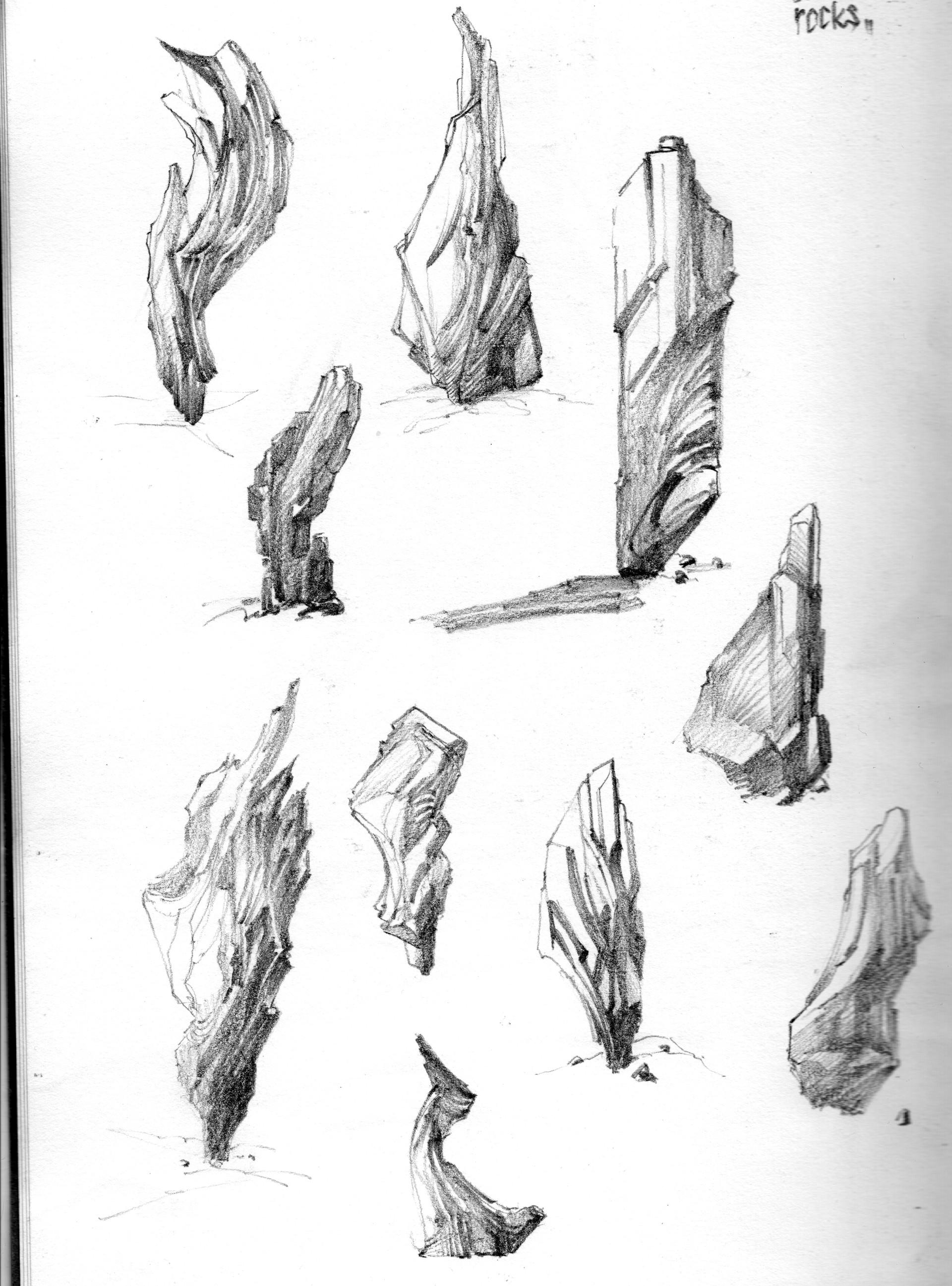 kitbash rocks