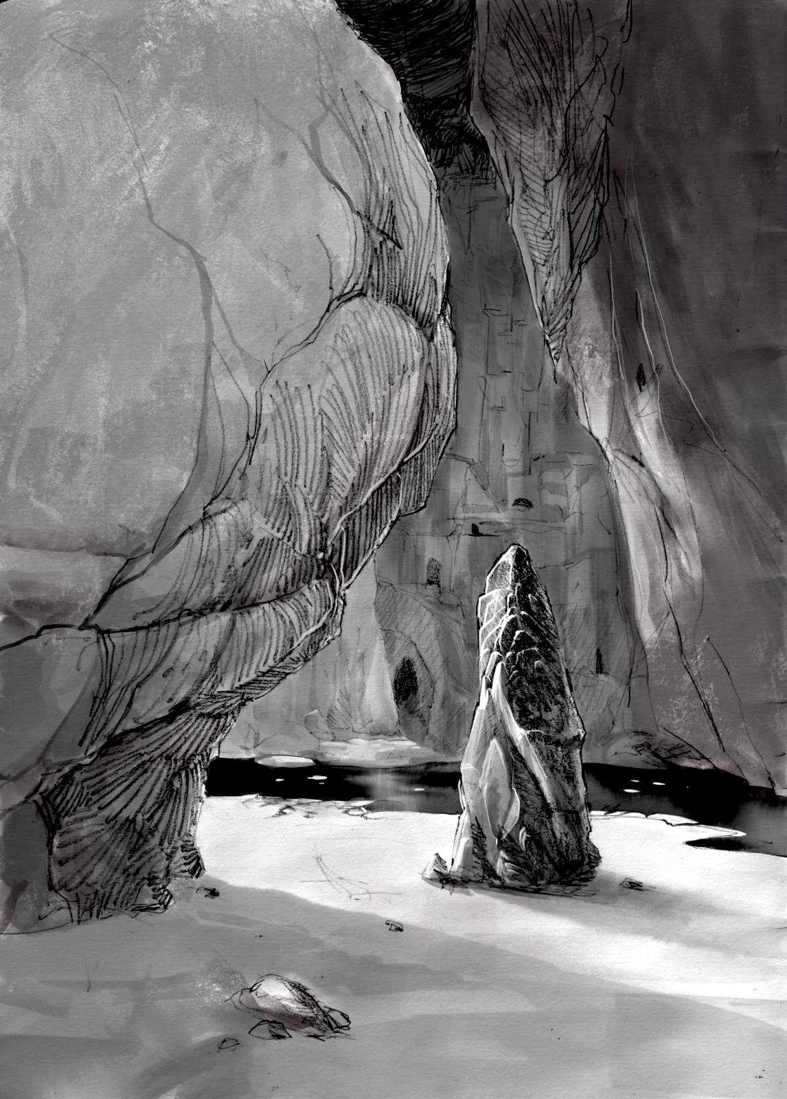Cave sketch