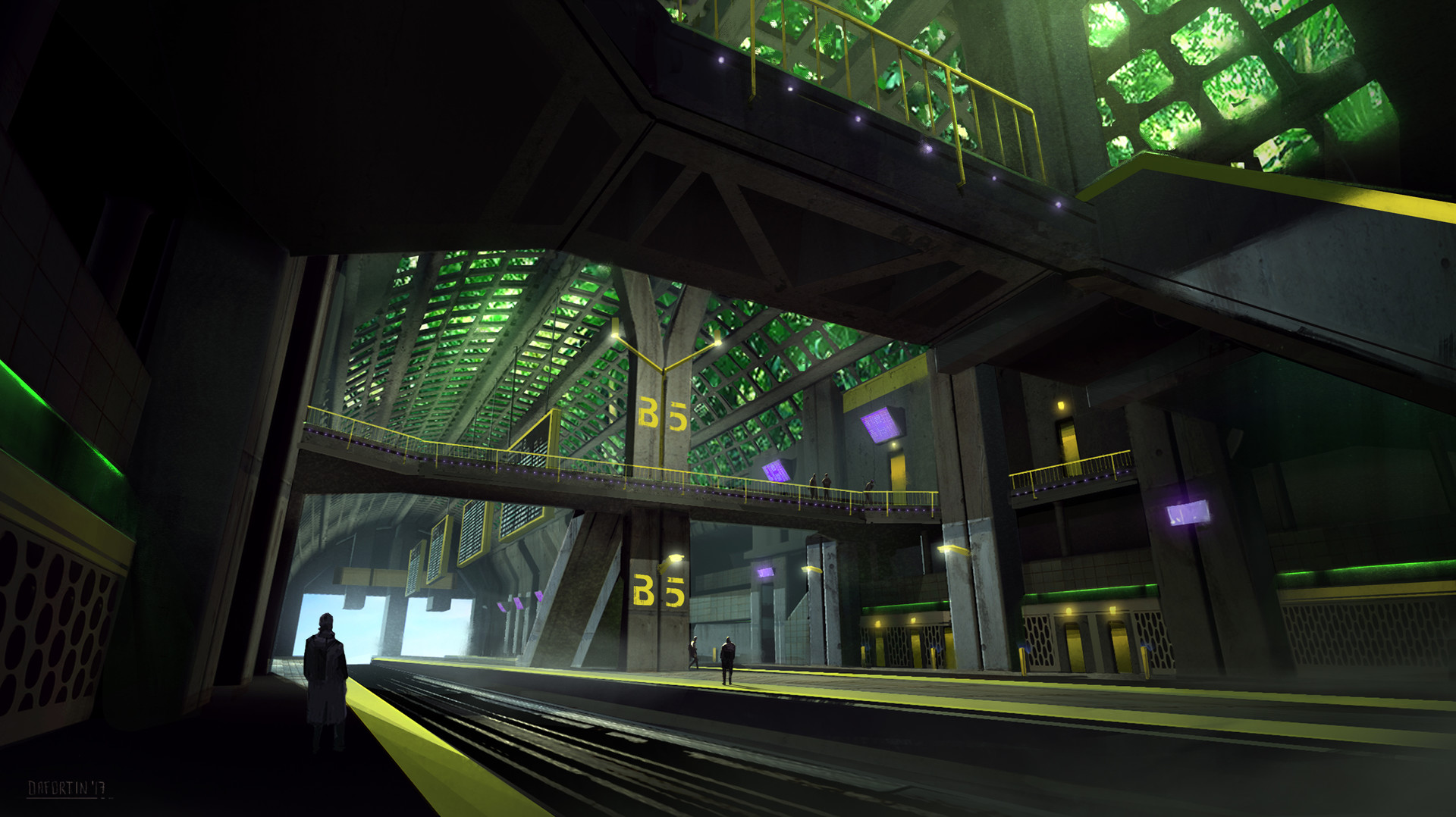 The Cluster - Train Station