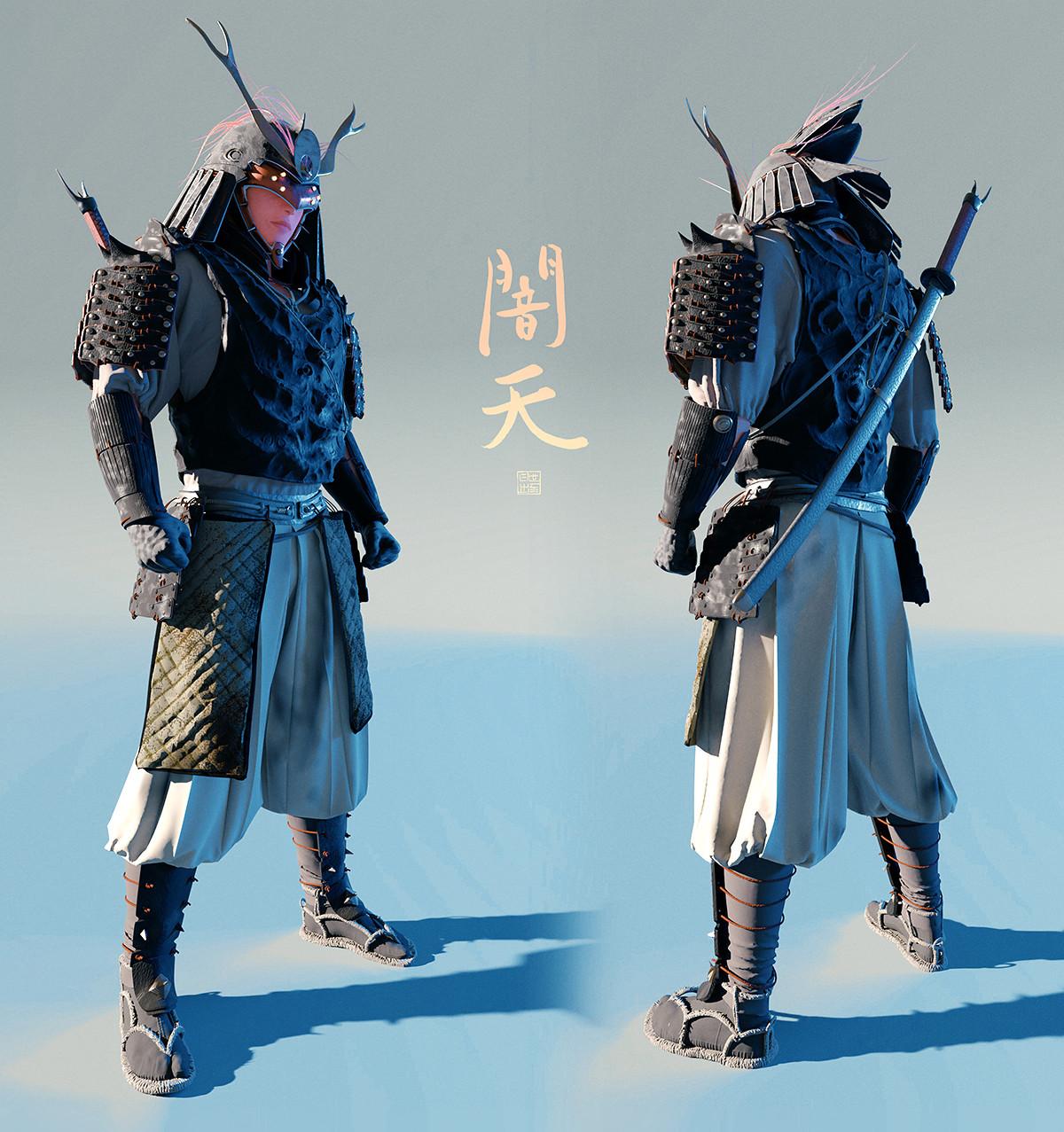 Lorenz hideyoshi ruwwe samurai 3quarter s