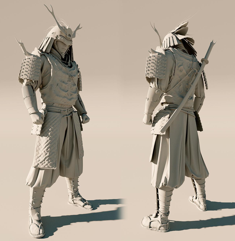 Lorenz hideyoshi ruwwe samurai clay s