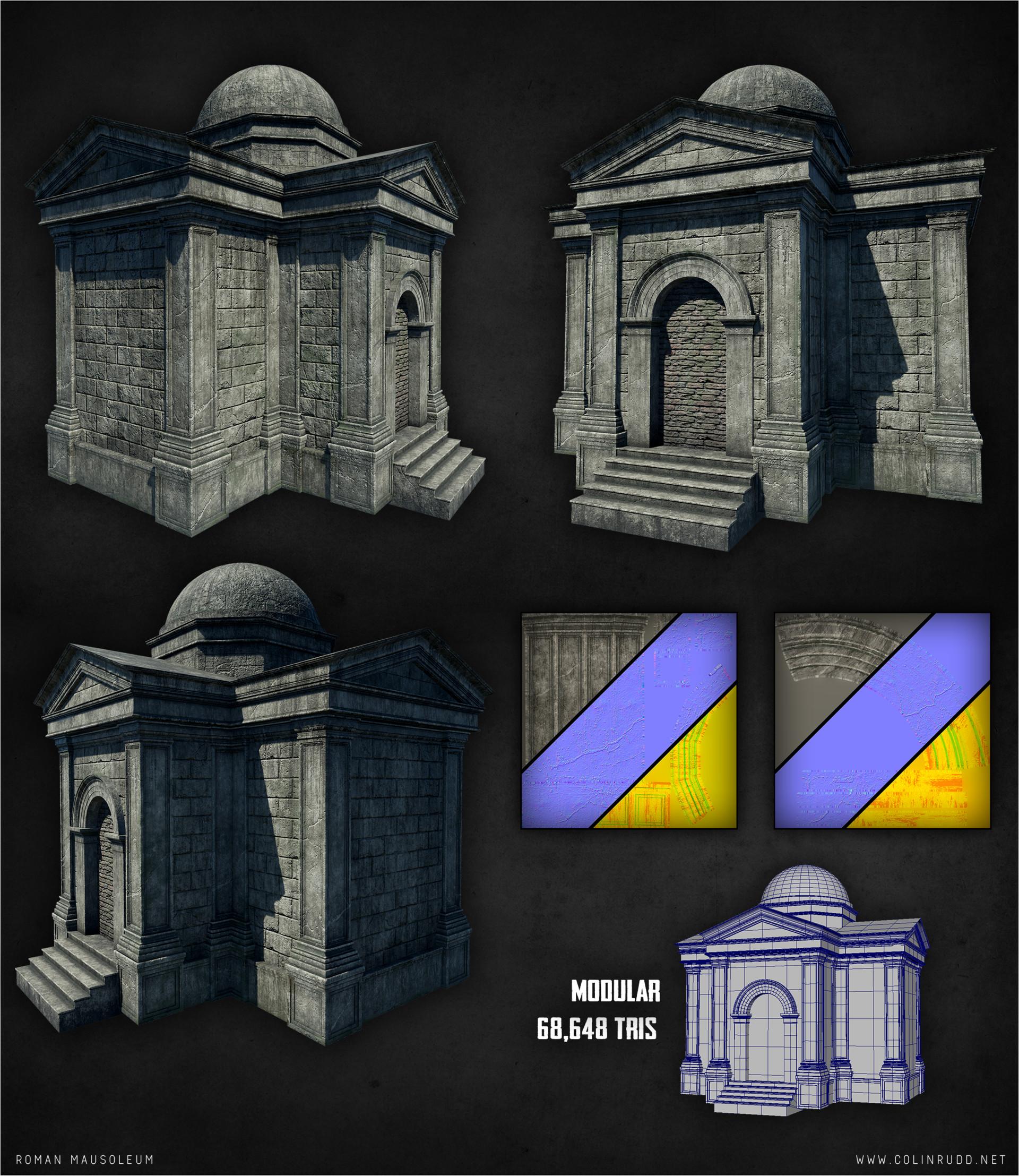 Colin rudd crypt