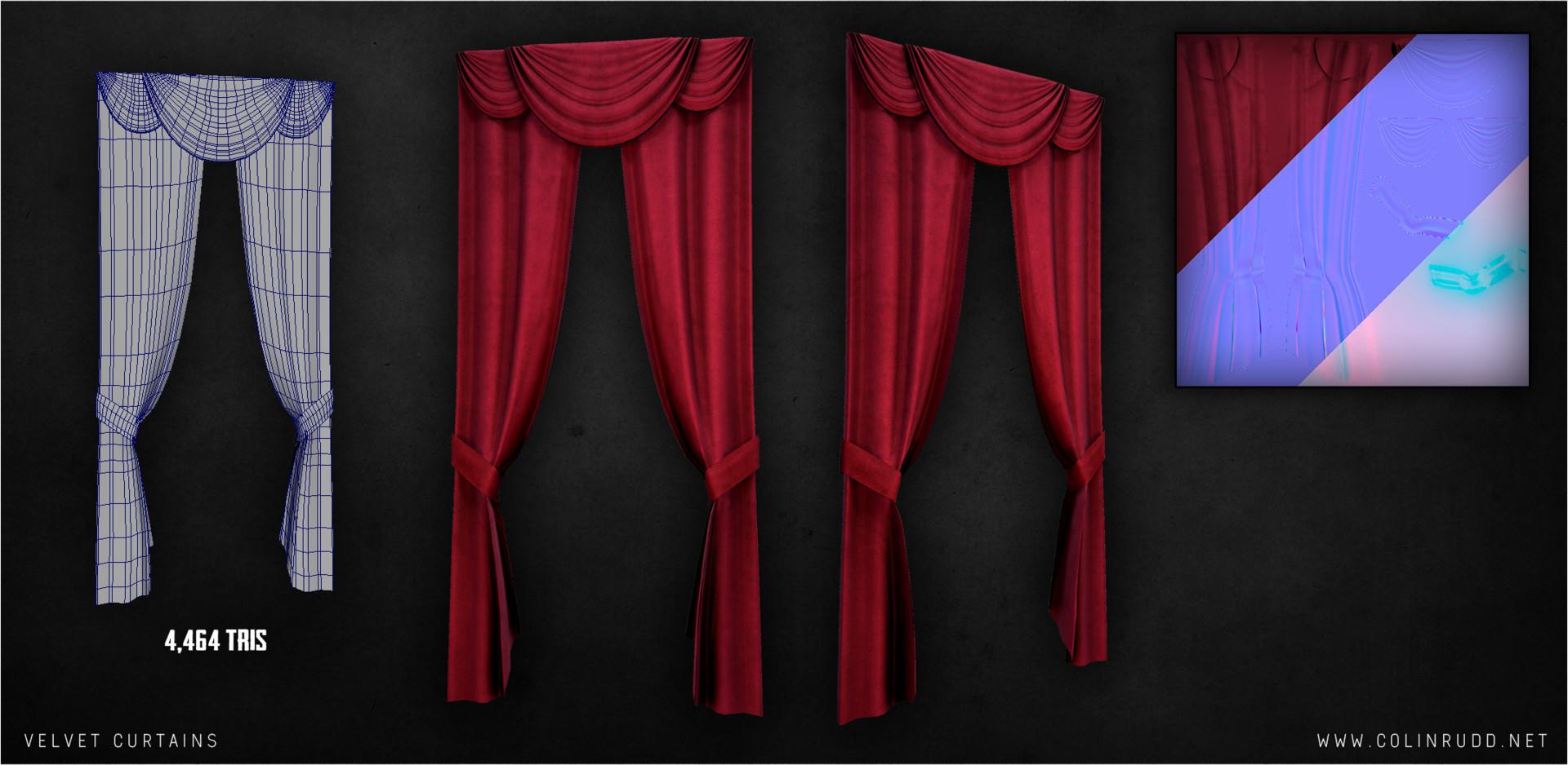 Colin rudd curtain