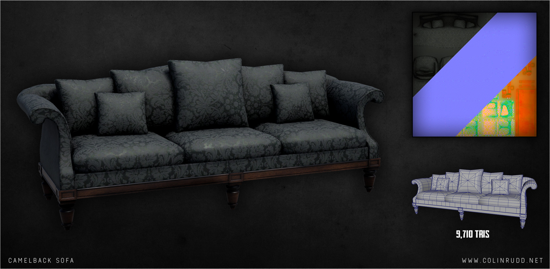 Colin rudd sofa