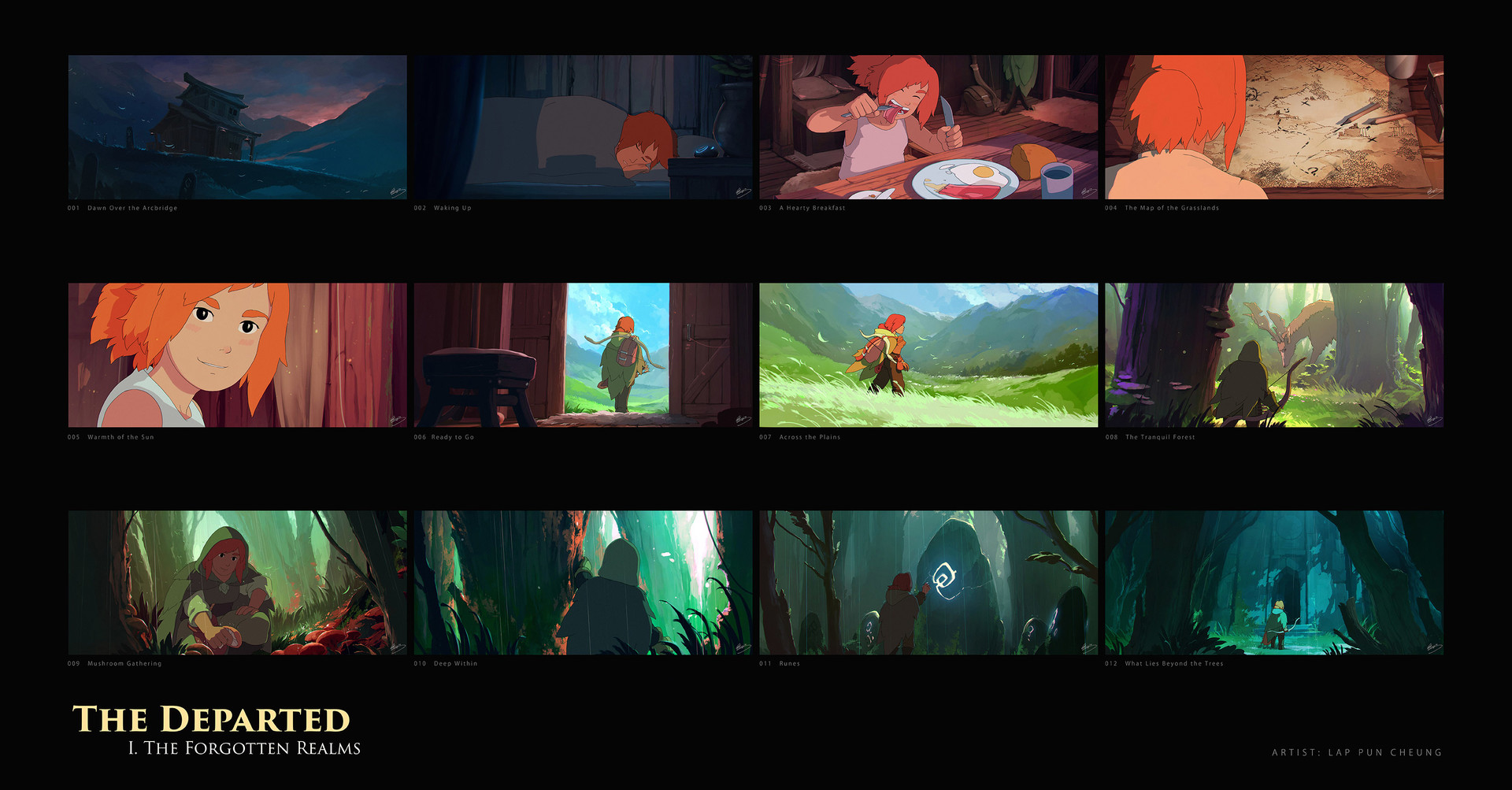 The Departed - Cinematic Keyframes - An Adventure Awaits